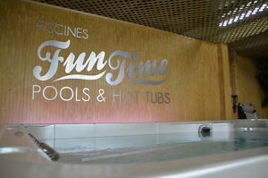 COME ON IN! NEW SWIM SPAS AND HOT TUBS JUST ARRIVED!