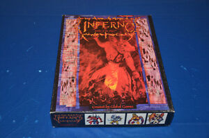 Inferno - Battle of the abyss Boardgame