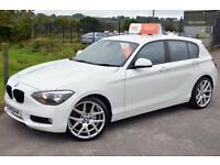 2013 63 BMW 1 SERIES 1.6 116D EFFICIENTDYNAMICS 5D 114 BHP DIESEL