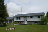 Lovely raised bungalow on almost 1ac. just outside Fenelon Falls