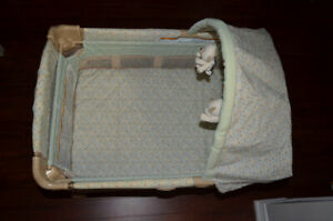 Graco Travel Lite Pack N' Play playpen in Cabo Gently Used