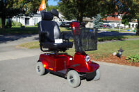 mobility scooter, FORTRESS 1700 DT, 4 wheels
