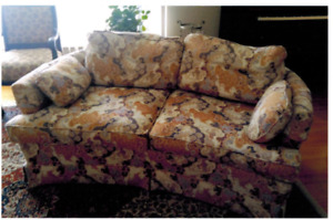 Pair of Matching Vintage Couches from the Art Shoppe