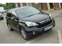 2007 HONDA CR-V 2.2 i-CTDi ES 2.2 TURBO DIESEL 4x4 SUV TOW BAR CRUISE ALLOYS FSH