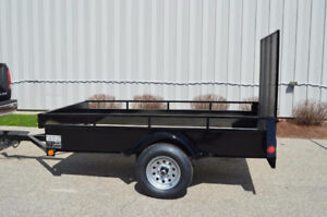 New Utility Trailer - Steel, Canadian Made, 5 Year Warranty!