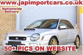 SUBARU IMPREZA WRX STI UK CAR SERVICE HISTORY , FACTORY FORGED ENGINE, Silver, M
