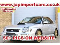 SUBARU IMPREZA WRX STI UK CAR SERVICE HISTORY , FACTORY FORGED ENGINE, Silver, M
