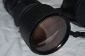 near mint nikon AF 300mmF4IFED wildlife lens