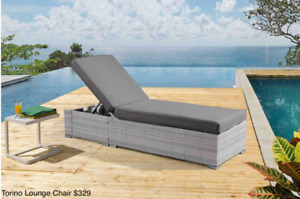 Outdoor Aluminum Fixed and Adjustable Lounge chairs