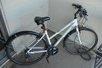 Ladies M Bike - Less than 1 year old - Excellent Condition
