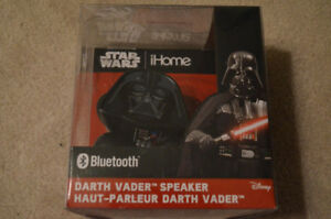 Star Wars Darth Vadar Bluetooth Character Speaker - NEW