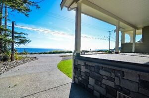 Beautiful Ocean view from this semi waterfront home. Campbell River Comox Valley Area image 9