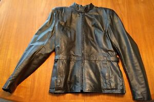 Leather Motorcycle jacket (lady's)