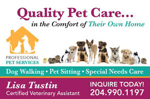 Need a Pet-Sitter??