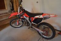 Just in time for riding season! 04' Honda CRF 250R FOR SALE