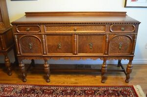 Lovely Walnut Dining Sideboard-Gorgeous Piece!