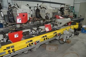 Weinig Throughfeed Moulder West Island Greater Montréal image 2