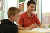Math Tutoring for Boys (Grade 6 and under)
