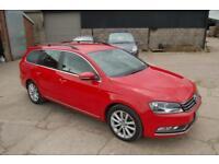 2014 VW VOLKSWAGEN PASSAT ESTATE 2.0 TDI 140 BHP BLUEMOTION TECH S/S EXECUTIVE