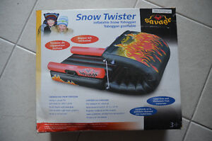 Inflatable snow tubes and tobogggan London Ontario image 1