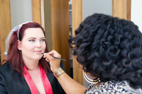 Professional Makeup Application & Hair Styling