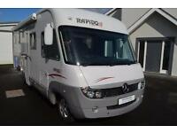 2008 Rapido 997M 4 Berth Luxury A Class Motorhome For Sale