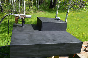 400 L tidy tank 1/4 inch steel for under sled deck