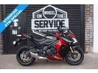 2017 17 SUZUKI GSX-S1000 F ABS L8, RED/BLACK, LOW MILEAGE EX DEMO BIKE!