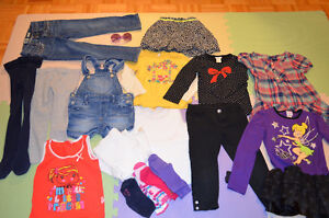Girl clothes (size: 4 years)