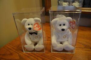 Ty Beanie Baby *Retired & Rare* - Set of 2 Wedding Bears Sarnia Sarnia Area image 4