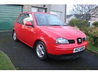 2002 Seat Arosa 1.0 Only 66k Low Ins. High MPG