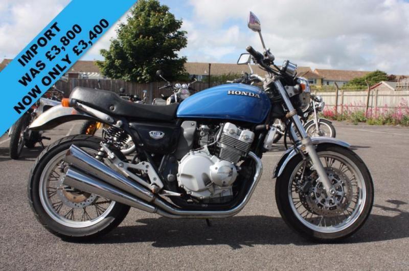 HONDA CB400 FOUR NC36 BLUE, RARE CLASSIC MOTORCYCLE, VERY ...