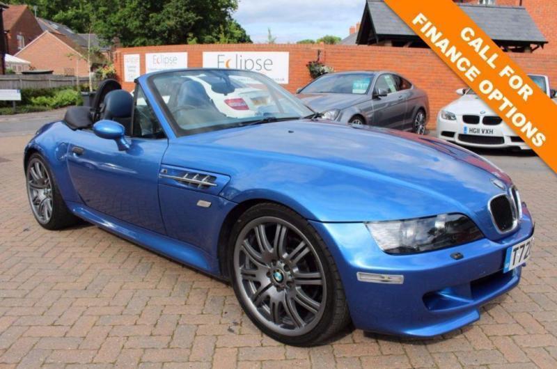 BMW ZM Z SERIES M ROADSTER D BHP FSH ESTORIL BLUE - 1999 bmw z3 m roadster