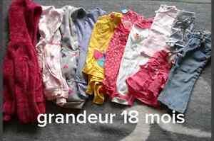 Lot de vêtements pour fille Saguenay Saguenay-Lac-Saint-Jean image 1
