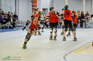 Roller Derby - Fresh Meat & Learn to Roller Skate Info Night Stratford Kitchener Area image 3
