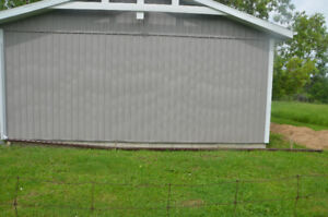 USED VERTICAL VINYL SIDING