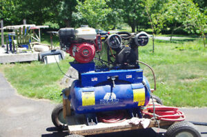 8 hp Portable Gas Powered Compressor- 1850.00