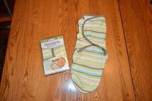 2 couvertures ajustables pour bébé Swaddle Me 7-14lbs