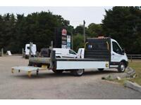 FORD TRANSIT 2.2 TDCi 350 L4 Extended Frame Dropside with Taillift 124 BHP