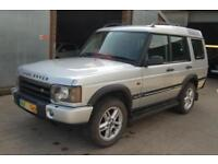 2004 LAND ROVER DISCOVERY 2 LANDMARK AUTOMATIC 2.5 TD5 7 SEATER 4x4 SUV LEATHER