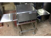 """Lincoln impinger conveyor pizza oven 16"""" electric 240v on stand Blodgett middleby marshall"""