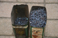 "20 lbs Gypsum Wallboard Nails size: 1 1/4"" in Retro Containers"
