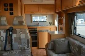 Elddis Autoquest 130 PEUGEOT BOXER 4 BERTH 4 TRAVELLING SEATS MOTORHOME