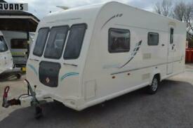 2010 - Bailey Olympus 525 - 5 Berth - Twin Lounge - Touring Caravan