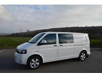 VW TRANSPORTER T5, 2.0BiTDI ( 180PS ) LWB 4Motion DSG T30, 2011, DAYVAN