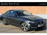 2015 BMW 2 Series 2.0 218d Sport Auto (s/s) 2dr Coupe Diesel Automatic