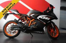 2015 15 KTM RC 125 ***RACE REPLICA***