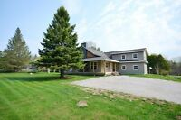 Custome home on over 1/2 an acre!