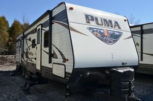 2016 Palomino Puma Travel Trailer 31 BHSS