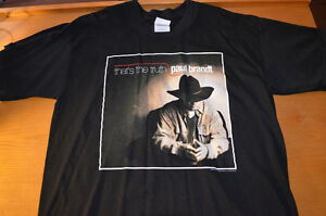 Paul Brandt: TOUR SHIRT: That's The Truth; Large